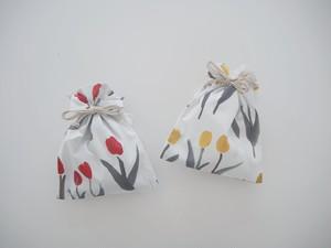 Tulip 巾着ミニポーチ