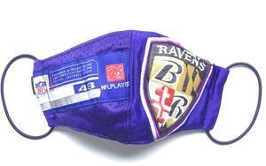 【デザイナーズマスク 吸水速乾COOLMAX使用 日本製】NFL  SPORTS MIX MASK CTMR 1012007