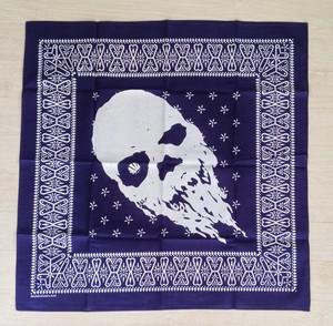 Skull・ Navy Blue bandanna