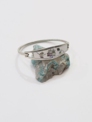 shell design bangle ④
