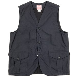 WORKERS / Cruiser Vest Reversed Sateen Black Msize