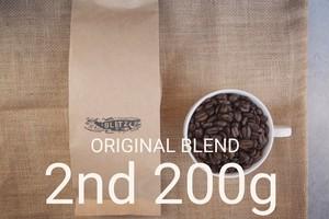200g - ブリッツオリジナルブレンド豆-2nd-