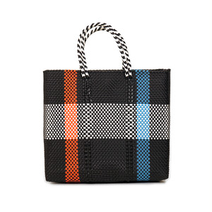 MERCADO BAG 2CHECK - Orange x Blue (M)