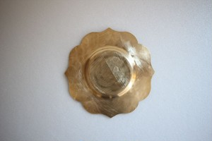 KiKU 竹俣勇壱|茶托 真鍮 輪花
