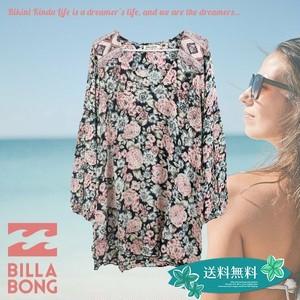 AH014-353 ビラボン ワンピース レディース 人気ブランド 花柄 ボタニカル おしゃれ おすすめ BILLABONG