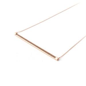 MMD long bar necklace / dark