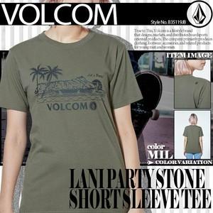 B35119JB ボルコム Tシャツ レディース LANI PARTY STONE SHORT SLEEVE TEE新作 人気 ブランド おしゃれ 入学 就職 プレゼント 通販 リゾート ロゴ VOLCOM