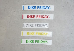 Decals, BIKE FRIDAY extra small, BL,GR,RD,YL,GY