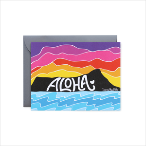 ALOHA ♡Message card