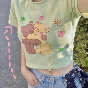 キュートな熊さんTシャツ