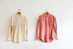 SEVEN BY  SEVEN コーデュロイ タックシャツ