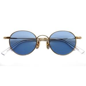 A.D.S.R. / LOU01(b) ルー / Gold - Lt.Blue ゴールド-ライトブルーレンズ ラウンドメタル ボストン サングラス