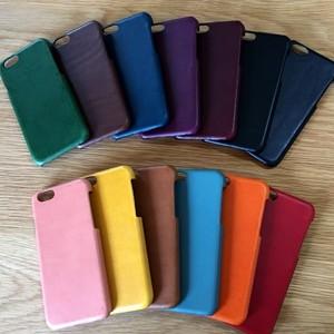 iPhoneカバー iPhone8plus/7plus/6plusケース*イタリアンレザーブッテーロ*