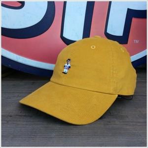 INFIELDER DESIGN(インフィールダーデザイン) BEAR CAP コーデュロイ 日本製 イエロー
