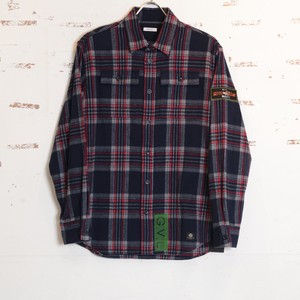 COTTON FLANNEL SHIRTS (RED CHK) / GAVIAL