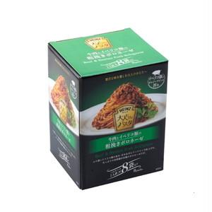 コストコ ハインツ 大人むけのパスタ 牛肉とイベリコ豚の粗挽きボロネーゼ 8袋 | Costco HEINZ Bolognese Pasta Sauce With Beef And Iberiko Pork 8 pack