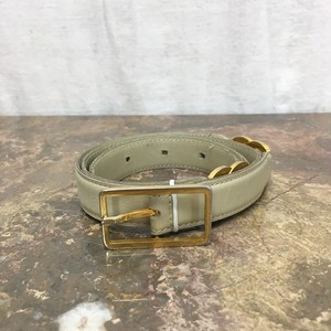 2000000004976 CHANEL 65/26 C023 COCO MARC LEATHER BELT MADE IN FRANCE/シャネルココマークレザーベルト