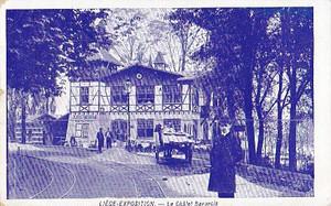 古絵葉書エンタイア「山荘」(1905年)