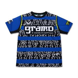 プラクティスシャツ「GORORO」(ブルー/P-066)☆受注生産可☆