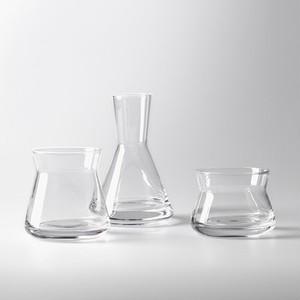 Design House Stockholm TrioVasesClear φ8 x H6 / 8 / 12cm 花瓶 フラワーベース 北欧 スウェーデン デザイナーズ ブランド 北欧 インテリア