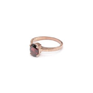 SINGLE PETIT STONE NON-ADJUSTABLE RING 007