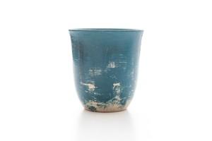 碧色漆塗りマグカップ