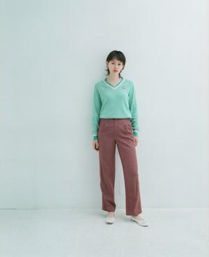 Pink brown pants