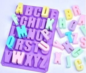 アルファベットBIGサイズ シリコンモールド