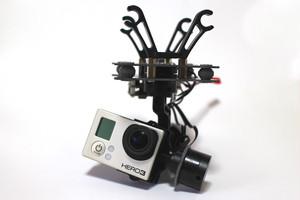 32bitTinyボード搭載GoPro用3軸ブラシレスジンバル