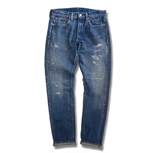 HAND ROOM 5 Pocket Jeans Slim Fit -15 year aging processed Indigo