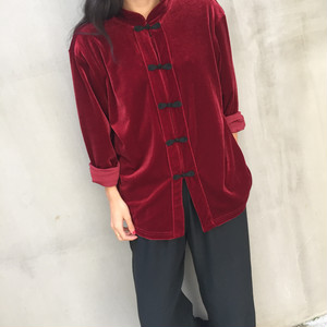 China velours jacket