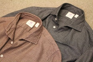 ALTEM FLOWER Glen Check Viyella Shirts
