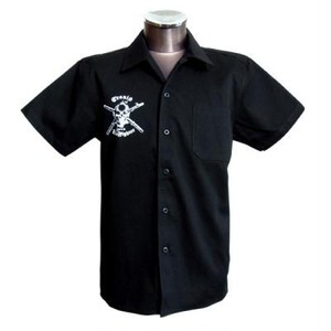 ZEROFIGHTERコラボ半袖ワークシャツ