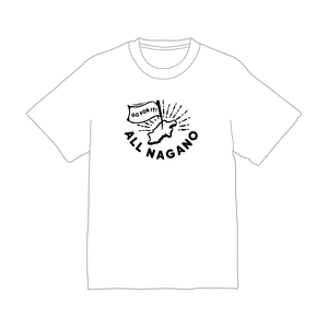 ALL NAGANO TEE(WHITE)