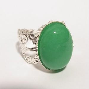 天然石、アゲート(瑪瑙)のリング フリーサイズリング 5805R