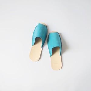 スリッパ Slippers (horse split / blue)