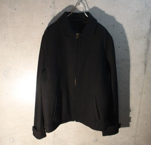 Wool Zip Up Jacket