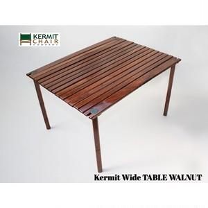 Kermit Wide TABLE WALNUT (カーミット ワイド テーブル ウォールナット) ウォールナット 正規品