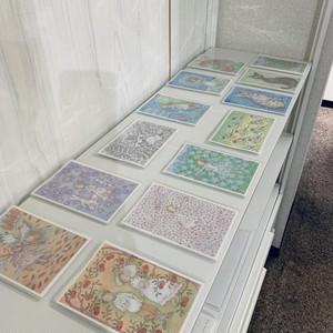 千砂のメルヘン水彩画ポストカードお任せ10枚セット