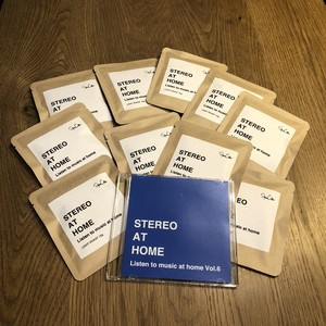 STEREO AT HOME Vol.6 ドリップバッグ10個セット STEREOコンパイルCD付