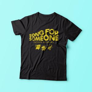 【SONG FOR SOMEONE】オリジナルキャラクターTシャツ
