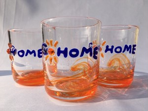 『GO HOME glass』