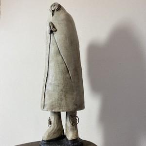 大天使ミカエル / 陶彫刻・オブジェ