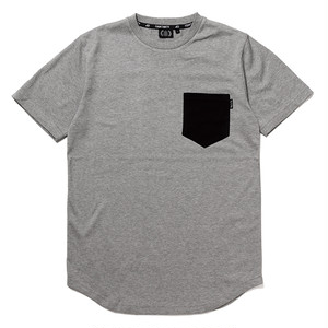 FOURTHIRTY フォーサーティー 430 POINT POCKET ROUND TEE H-GRY