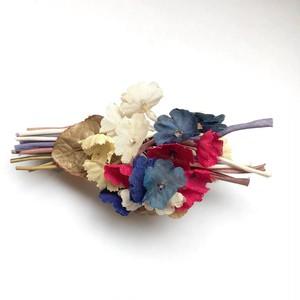 カラフル花いっぱいのヴィンテージ花束