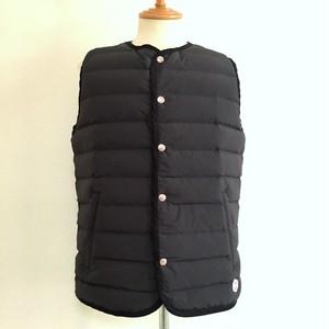 【予約商品:10月21日以降入荷予定】Stitchless Down Vest Black