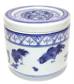景徳鎮の養盆(虫缶)