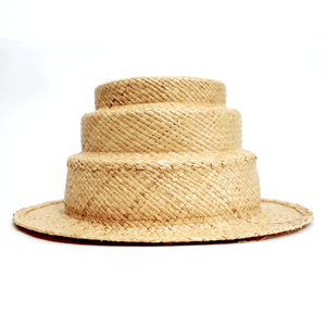 [curione] tire raffia hat (mini)