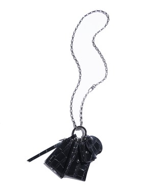 CROCODILE MINI POUCH CHAIN BAG