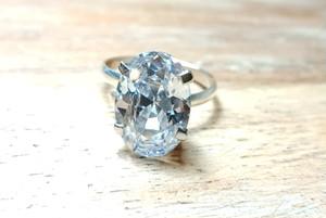 【ジルコニアダイヤモンド】シルバー925リング